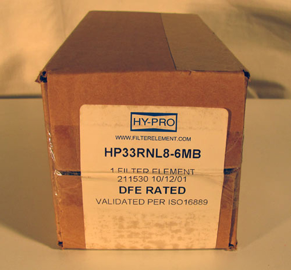 HY-PRO HP33RNL8-6MB  Hydraulic Filter Box