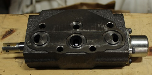 Hydraulic Cylinder Valve Section