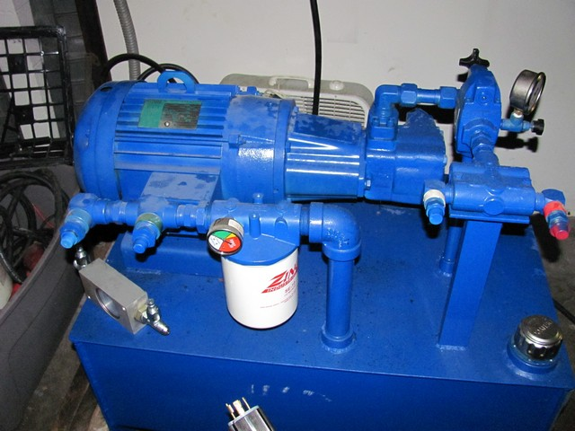 Hydraulic Power Unit 10 HP 230/460 14 GPM