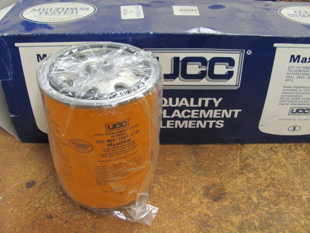 UCC UC-MX-1591-4-10 Spin-On Filter Element