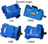 V10, V20, V2010 and V2020 Series Single and Double Vane Hydraulic Pumps, Fluidyne. Economical Replacements for Eaton/Vickers, Bandit and more.